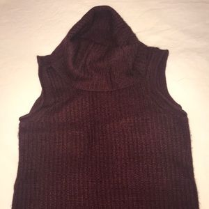 Saks Fifth Avenue Sweaters - Sak's fifth avenue sleeveless cashmere cowlneck